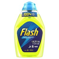 Flash Multi-Surface Concentrate Lemon Cleaning Gel - 400ml