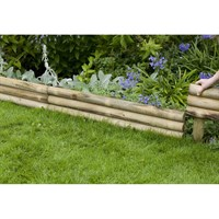 Forest Garden Horizontal Log Edging (HLE100)