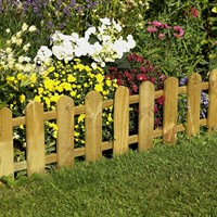 Forest Garden Picket Fence Edging (FPT1M)