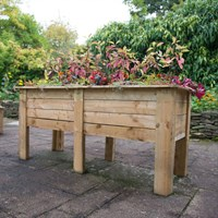 Forest Garden Wooden Deep Root Planter - 1.8M (DRPLANT18)