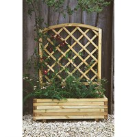 Forest Garden Wooden Toulouse Planter (FPTL)