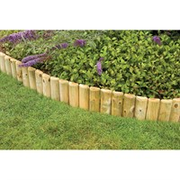 Forest Garden Log Roll Border - 6 Inches (RLR06)