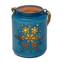 Fountasia Blue Christmas LED Lantern (79176)