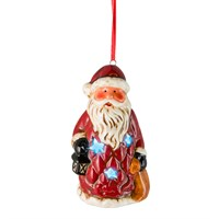 Fountasia Christmas Hanging Tree LED Decoration - Santa (79102)