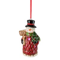 Fountasia Christmas Hanging Tree LED Decoration - Snowman (79102)