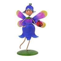 Fountasia Ornament - Mini Fairy Bluebell 'Sky' (95148)