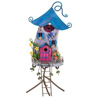 Fountasia Ornament - Fairy Fantasy House (95104)