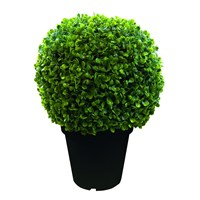Gardman Artificial Potted Leaf Topiary Ball (03083)