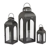 Gardman Balcome Candle Lanterns - Set of 3 (19714)