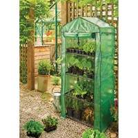 Gardman Growhouse with Heavy Duty Cover - 4 Tier (08718)