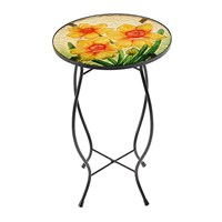 Gardman Marie Curie Glass Daffodil Table (20107)