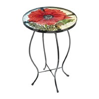 Gardman Royal British Legion Glass Poppy Table (20106)