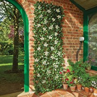 Gardman White Clematis Artificial Trellis - Medium (03021)