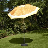 Glendale 2m Orange Garden Furniture Parasol (GL1827)