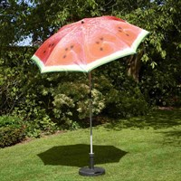 Glendale 2m Water Melon Garden Furniture Parasol (GL1825)