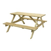 Grange Oblong Garden Table With Seats (Oblongt) DIRECT DISPATCH