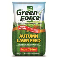 GreenForce Autumn Lawn Feed 750m2 (15kg Bag) (G21027)
