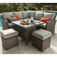 Hartman Essential Square Casual Dining Set with Cover (633057)
