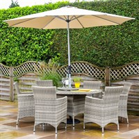 Hartman Westbury 6 Seat Outdoor Garden Furniture Set (68162147)