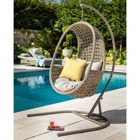 Hartman Heritage Bijou Hanging Outdoor Garden Furniture Chair In Beach (712385)