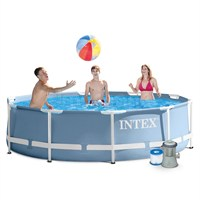 Intex 12ft X 30in Prism Frame Pool Swimming Set (28712UK)