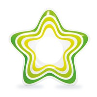 Intex Rubber Ring - Green Star (59243NP)
