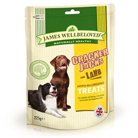 James Wellbeloved Crackerjacks Dog Treats - Lamb 225G (7993001)