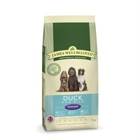 James Wellbeloved Duck & Rice Kibble Dog Food - Senior 15Kg (6206150)
