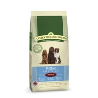James Wellbeloved Fish & Rice Kibble Dog Food - Adult Maintenance 15Kg (6304150)
