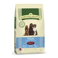 James Wellbeloved Fish & Rice Kibble Dog Food - Adult Maintenance 7.5Kg (6304075)