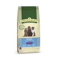 James Wellbeloved Fish & Rice Kibble Dog Food - Senior 2Kg (6306020)
