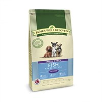 James Wellbeloved Fish & Rice Kibble Dog Food - Senior Small Breed 1.5Kg (6370015)