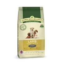 James Wellbeloved Lamb & Rice Kibble Dog Food - Light 1.5Kg (6005015)