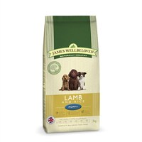 James Wellbeloved Lamb & Rice Kibble Dog Food - Puppy 2Kg (6000020)