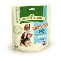 James Wellbeloved Minijacks Dog Treats - Duck 90G (7746001)