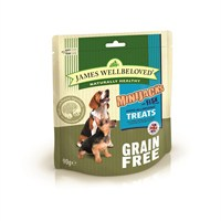 James Wellbeloved Minijacks Dog Treats - Grain Free Fish 90G (7748301)