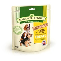 James Wellbeloved Minijacks Dog Treats - Lamb 90G (7747001)