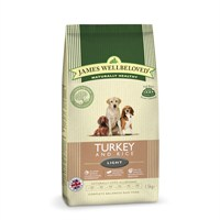 James Wellbeloved Turkey & Rice Kibble Dog Food - Light 1.5Kg (6105015)