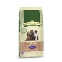 James Wellbeloved Turkey & Rice Kibble Dog Food - Senior 15Kg (6106150)