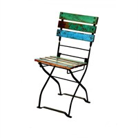 Kadai Folding Chair With Recycled Top (Dm021)