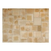 Kelkay Paving Abbey Random Patio Kit - York Gold (8583YG)