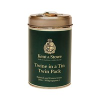 Kent & Stowe Twine in a Tin Twin Pack 50m 100g (70100815)
