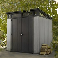 Keter Artisan 7x7 Pent Garden Shed - Brownish Grey (17203426)