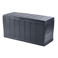 Keter Sherwood 270L Garden Storage Box - Anthracite (17198596)