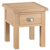 Kettle Interior Lo Lamp Table with Drawer (LO-LT)