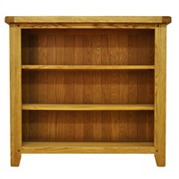 Interior Furniture - Stamford Small Wide Bookcase
