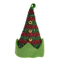 Koopman Christmas Elf Hat With Clip - Design 2 (CAA717300)