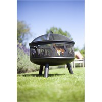 La Hacienda Wildfire Firepit Barbecue (58116)