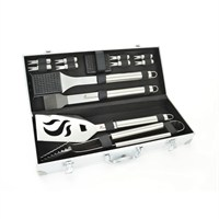 Landmann BBQ 13 Piece Stainless Steel Tool Set - Barbecue Accessories (13399)