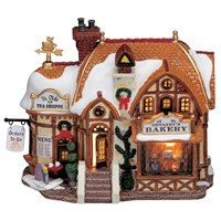 Lemax Christmas Village - Devaney's Bakery Building - Battery Operated LED (35793)